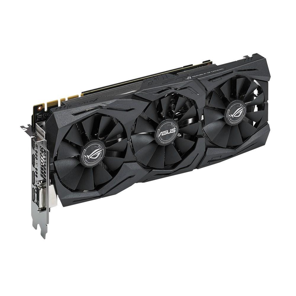 Strix, NVIDIA GeForce GTX 1080, 8 GB, GDDR5X, DVI, HDMI, DP Color Negro Tarjeta gr/áfica ASUS STRIX-GTX1080-A8G-GAMING